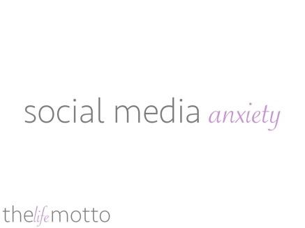 social media anxiety series
